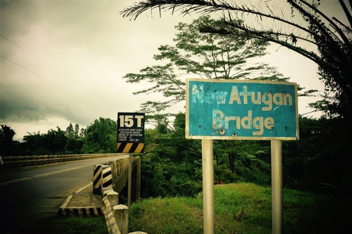Atugan Bridge, Bukidnon. PHoto: Fr. Jboy Gonzales SJ