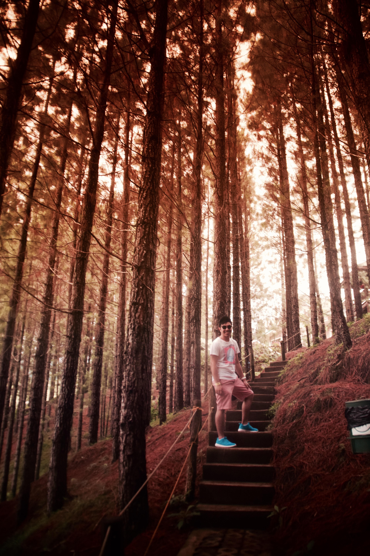 Dahilayan's Pine Forest with Erick Salonga. Photo: Bok Pioquid