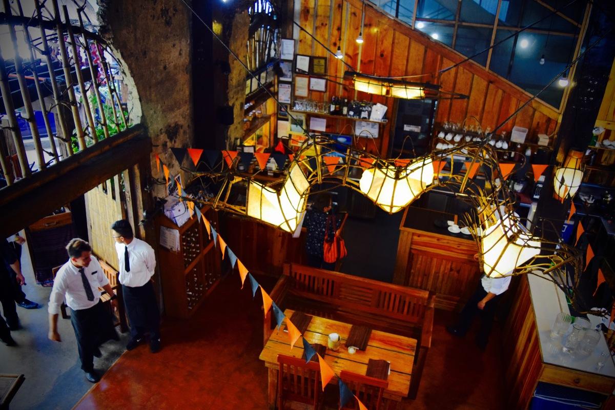 Baguio City's Café by the Ruins