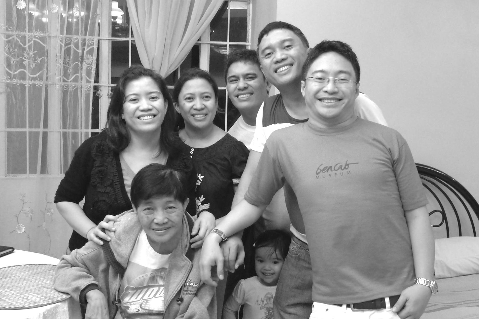 My family on Christmas